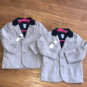 Twin boys Baby GAP blazers size 2T new w tags!